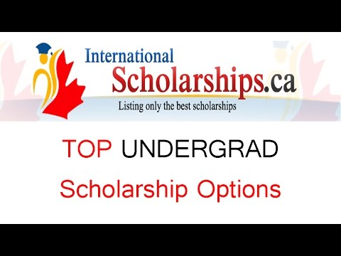 How to get an International Scholarship - Top Undergrad Options