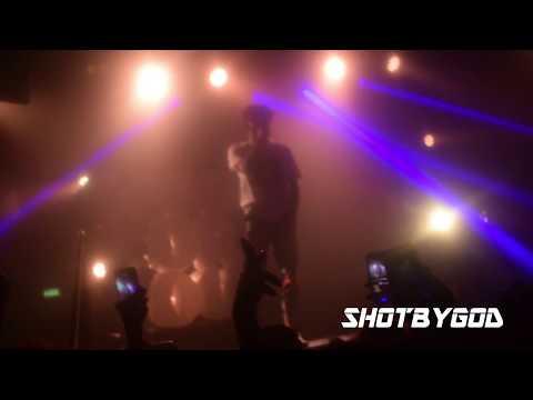AMINE STFU LIVE LONDON UK GOOD 4 YOU TOUR