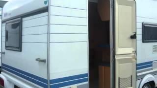 Caravan te koop: HOBBY DE LUXE 440 SF 1998 VERHUUR 50% KORTING