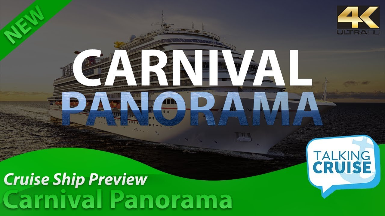 carnival panorama new cruise ship preview youtube