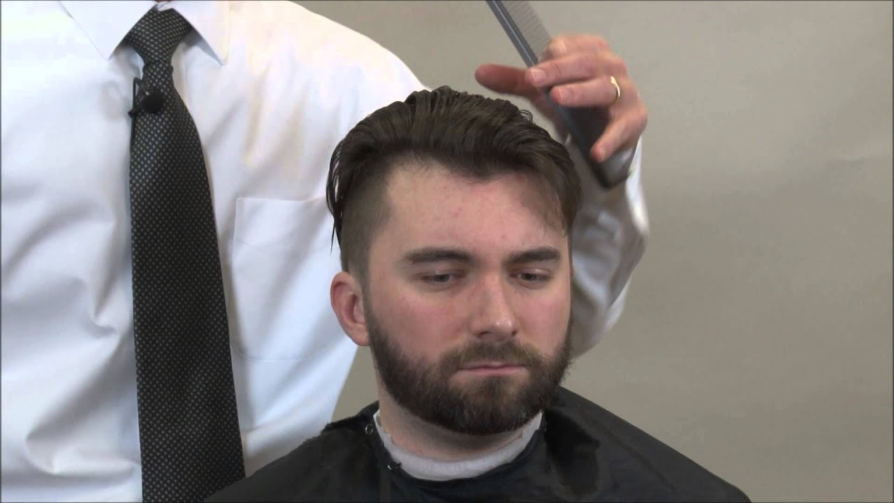Undercut Hairstyle Boardwalk Empire Hairstyle Part 4 Youtube