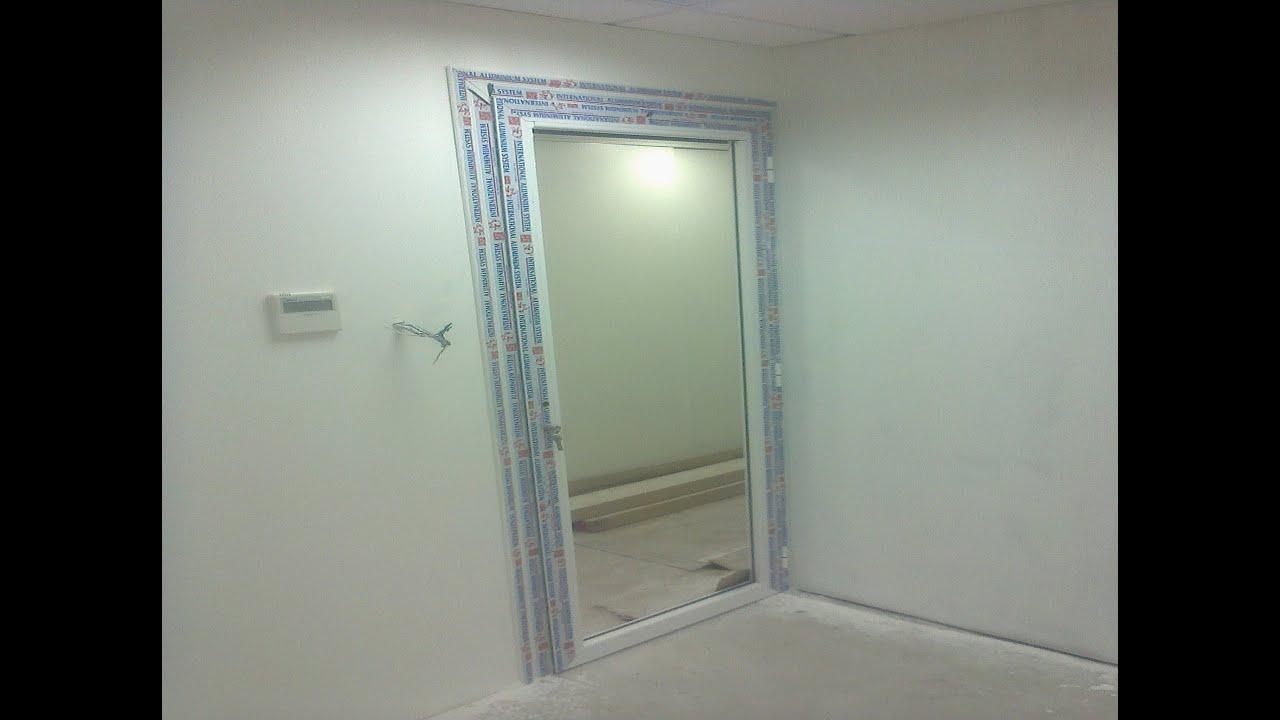 Construction et travaux decoration bureau dans l usine rouiba