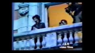INÉDITO | Michael Jackson | 1993 | DWT @Argentina | 22 | Aparición COMPLETA balcón Hyatt