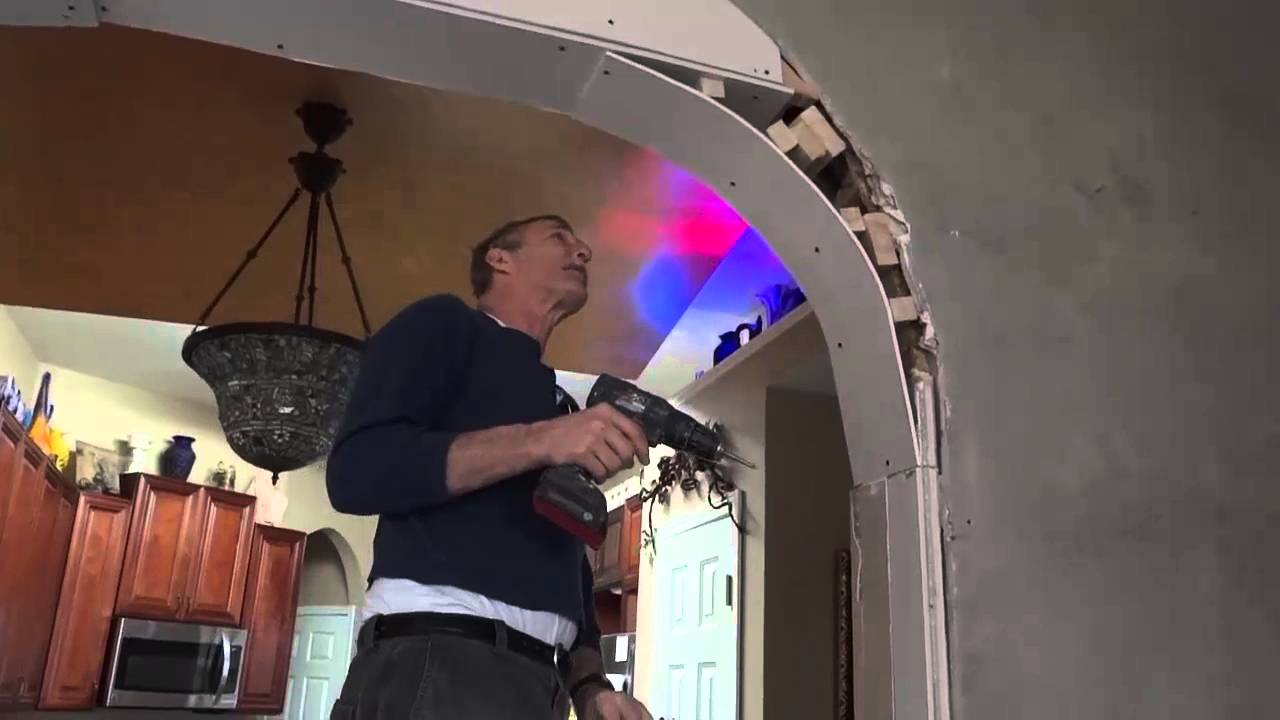 How to make a drywall arch 65