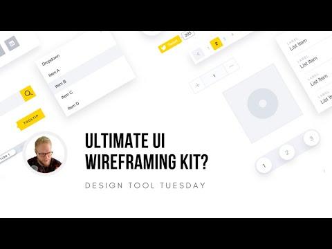Ultimate UI Wireframing Kit? - Design Tool Tuesday, Ep14