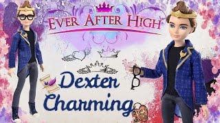 ОБЗОР ДЕКСТЕР ЧАРМИНГ Эвер Афтер Хай Базовая кукла 2014 год/Dexter Charming  Ever After High Review