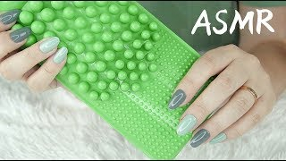 🎧ASMR Slow Scratching & Tapping on Textures / NO TALKING