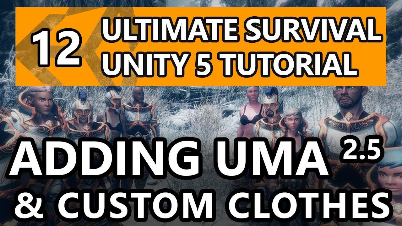 Uma 2 unity multipurpose avatar asset store.