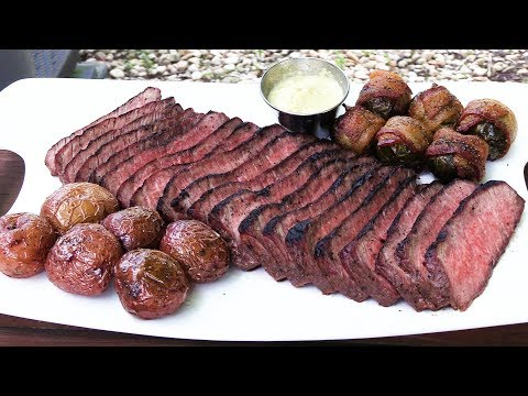 USDA PRIME Beef London Broil For TWO | BONUS Maryland Crab Cakes | The Wolfe Pit