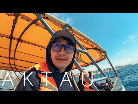 FIRST EVER TRAVEL VIDEO ABOUT AKTAU - KAZAKHSTAN IN ENGLISH