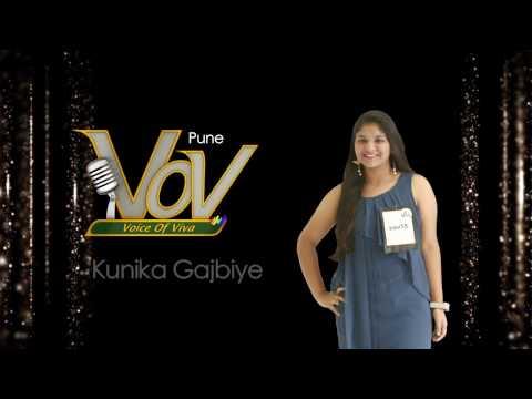 Kunika Gajbiye - Viva 8 Voice of Viva contestant from Pune