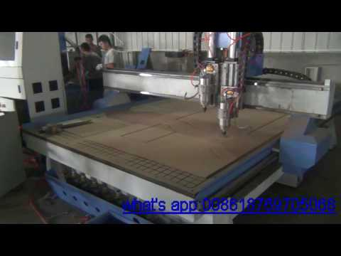 Two process cnc router  2030 door engraving cnc