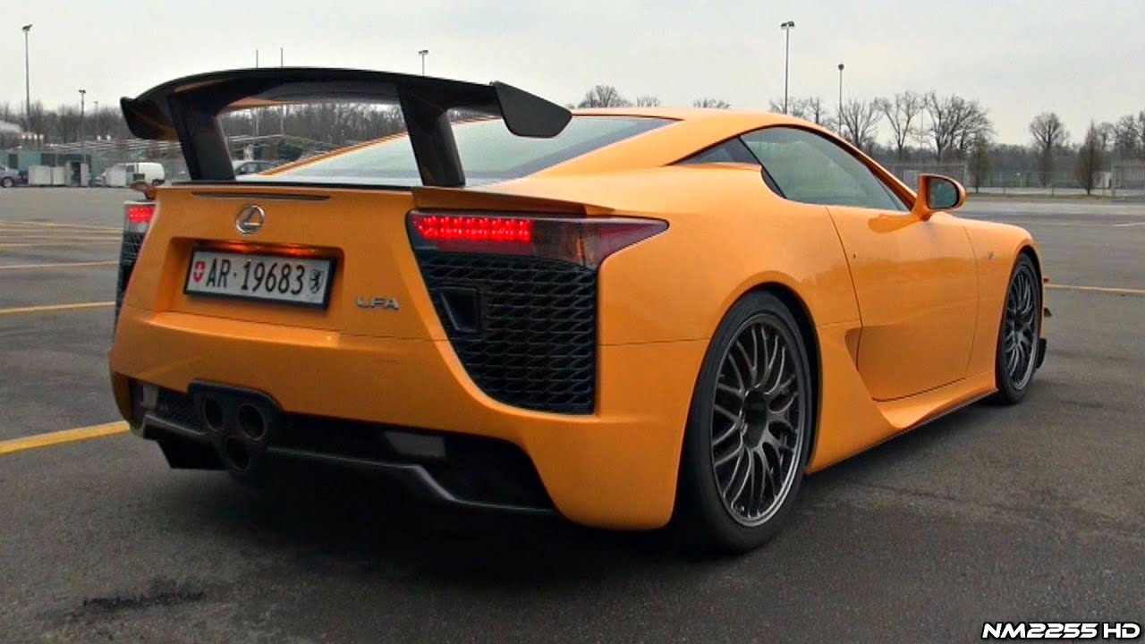 best of lexus lfa v10 engine symphony - youtube