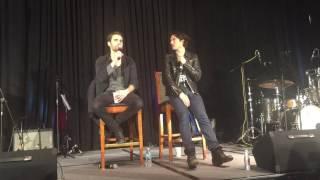 paul wesley ian somerhalder talk about last tvd scene