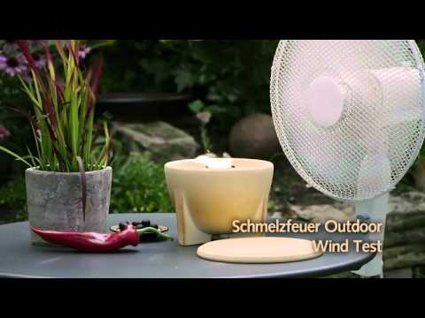 Schmelzfeuer Outdoor - Wind Test