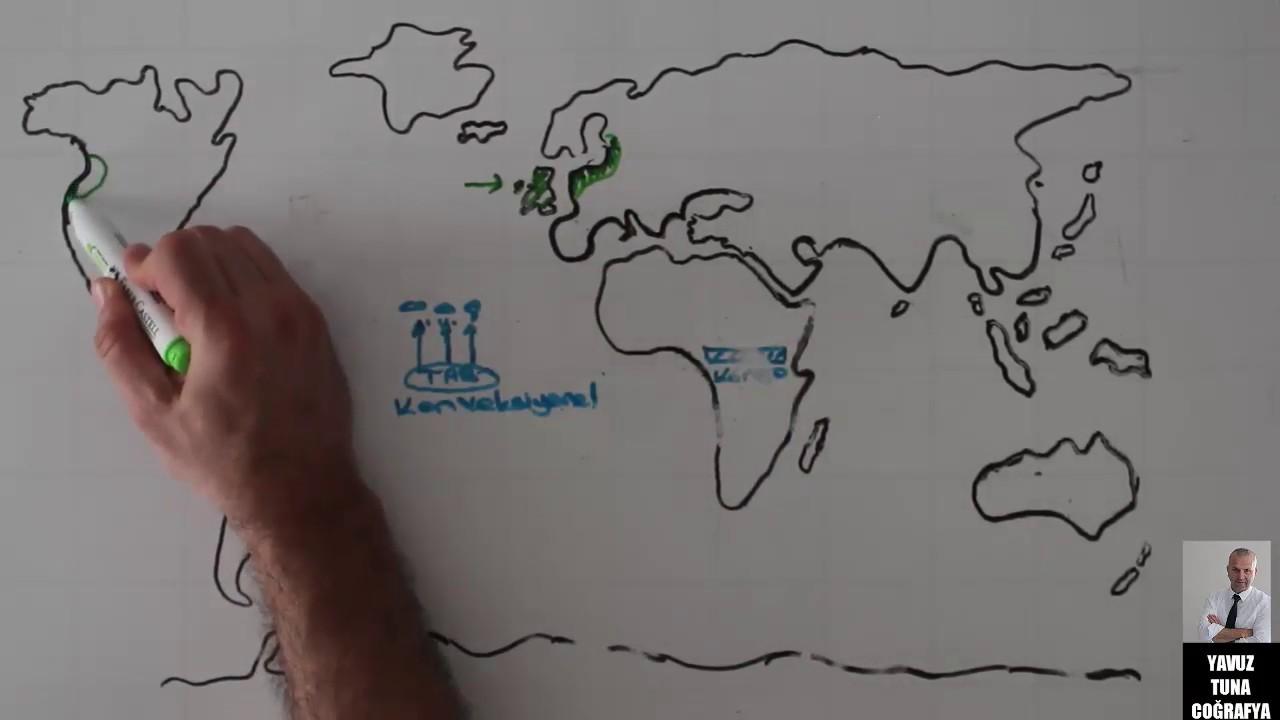Dünya Kabartma Haritası