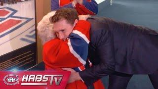 Brendan Gallagher meets a 91-year-old fan