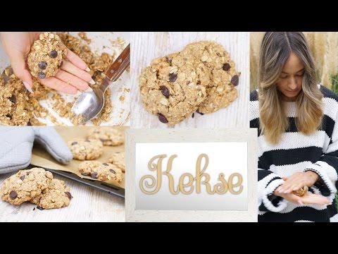 Gesunde Cookies - vegane Kekse schnell und einfach backen - Gesunde Snackidee