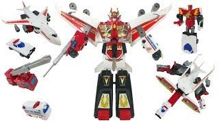 DX 화이어 다그온은 용자 시리즈 로봇용사 다그온의 주인공 로봇이에요!! 화이어 폴리스, 화이어 크레인, 화이어 엠뷸런스와 화이어 점보가 화이어...
