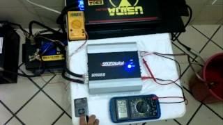 SD1500 teste em 2 ohms