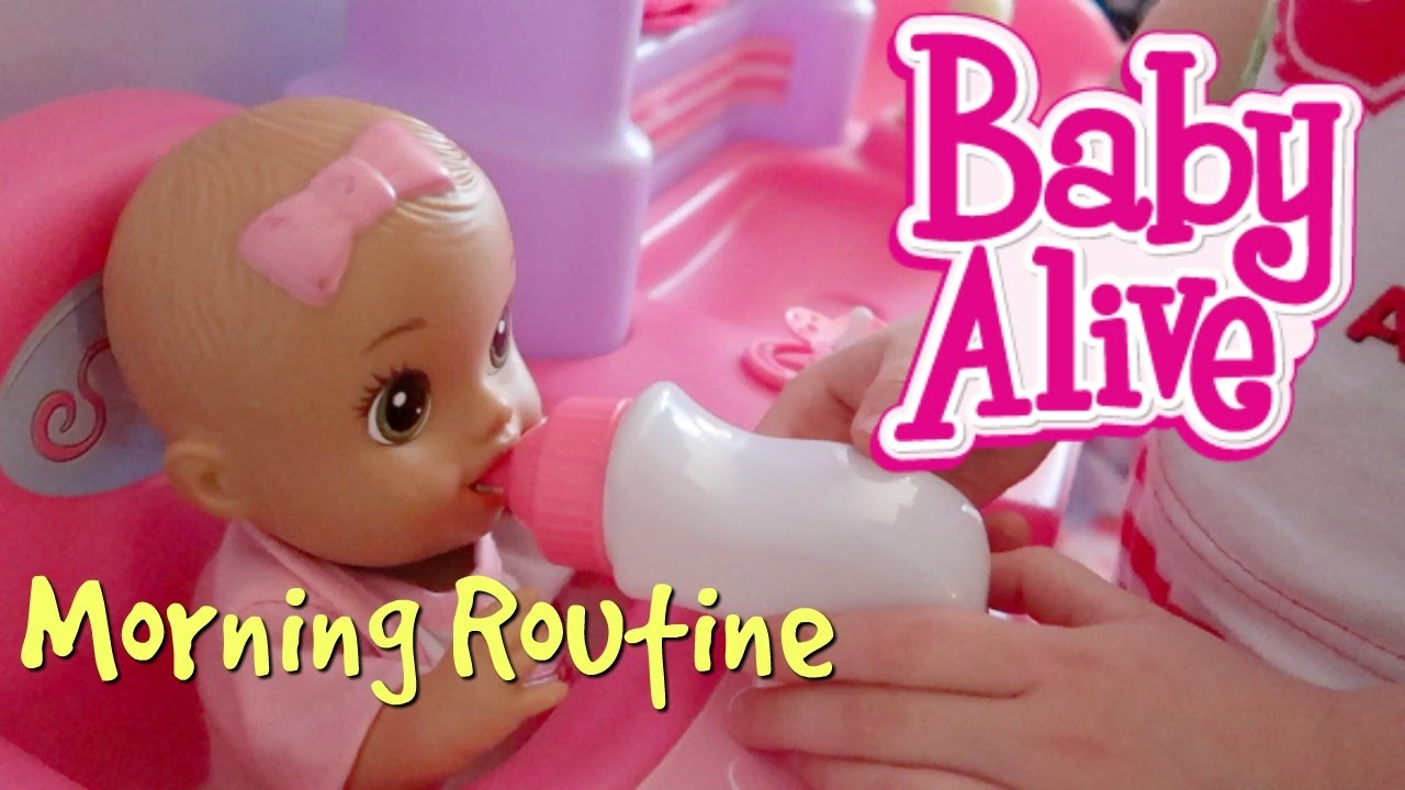 Baby Alive Morning Routine Doovi