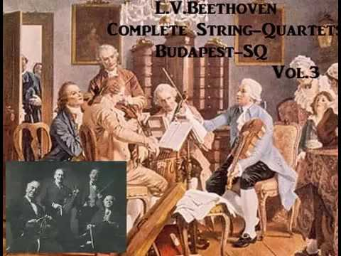 L.V.Beethoven Complete String-Quartet Vol.3 (#13~#16,Grosse Fuge) [ Budapest-SQ ]