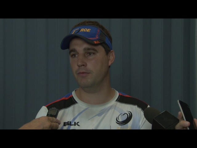 Dave Wessels Pre Gold Coast Trial Match