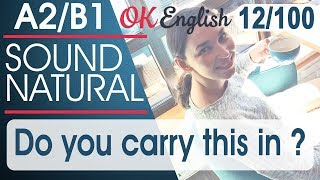 12/100 Do you carry this in ...? 🇺🇸 Курс разговорного английского языка: 100 English phrases