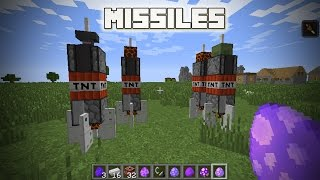 Cara membuat mini rocket di minecraft pe