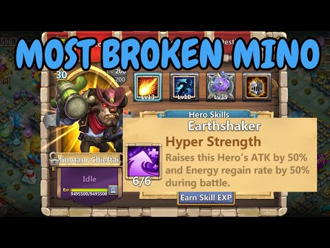 10 Stealth 6 Hyper Strength Mino In Action L Castle Clash