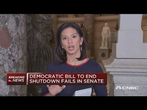 Democratic bill to end shutdown fails in Senate Mp3