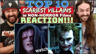 TOP 10 SCARIEST Villains in Non-Horror Films - REACTION!!!