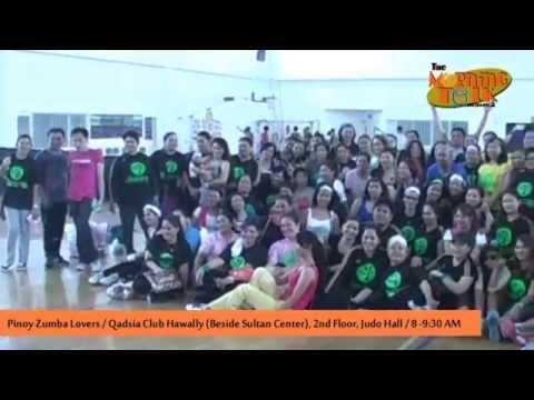 Pinoy Zumba Lovers may 153 na dumalo sa isang group exercise