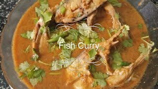 Muslim style fish curry tasty recipe /Indian food recipe fish curry