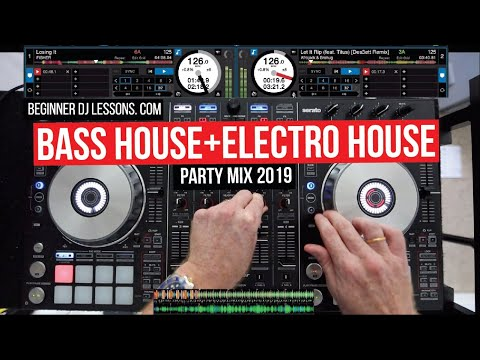 BASS HOUSE and ELECTRO HOUSE LIVE MIX 2019 | PIONEER DDJ-SX2