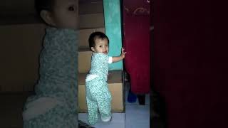 funny baby called dad