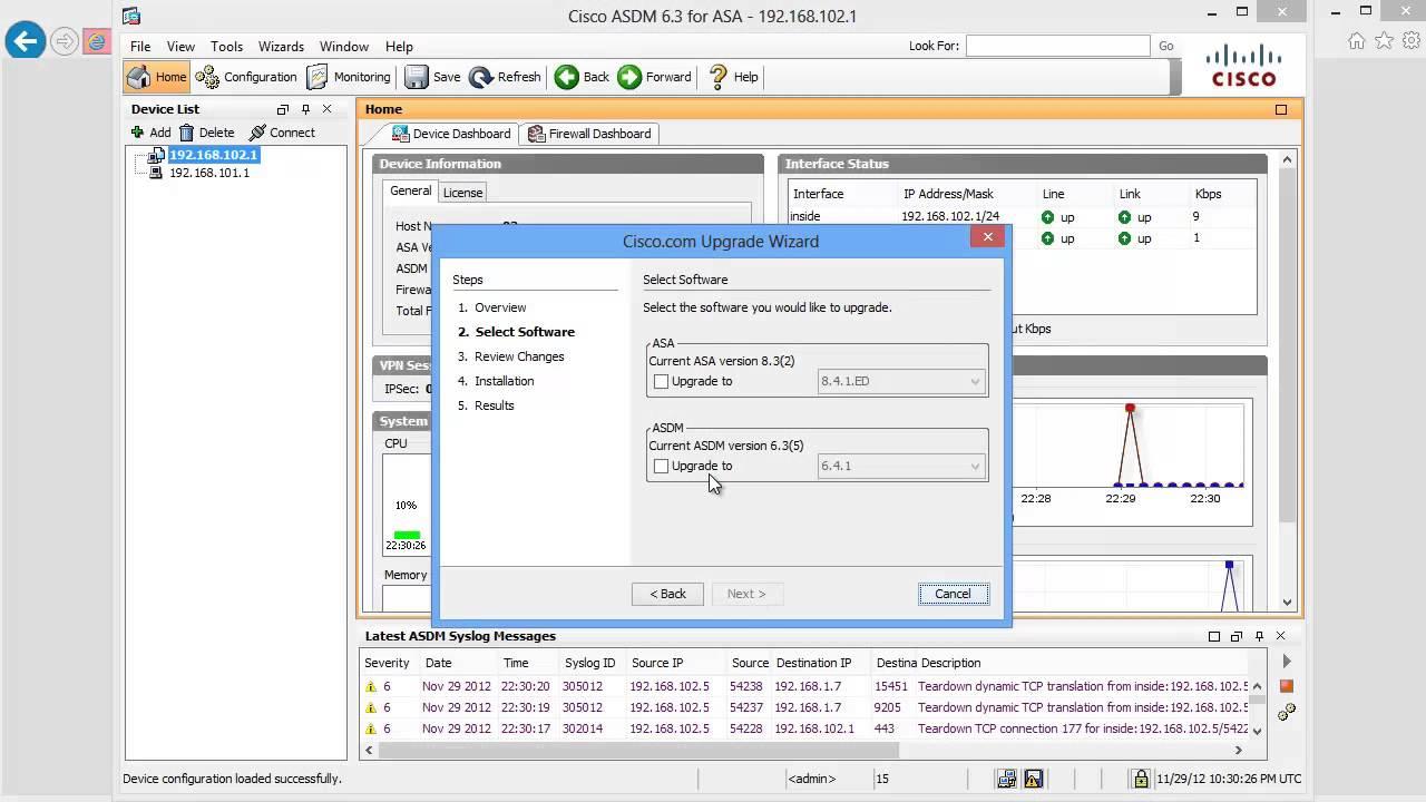 How to Update Cisco ASA Software from the Cisco Website: Cisco ASA Training  101