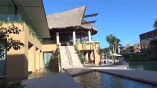 Hotel Xcaret Mexico--Fuego Lobby to Lobby Via Main Pool