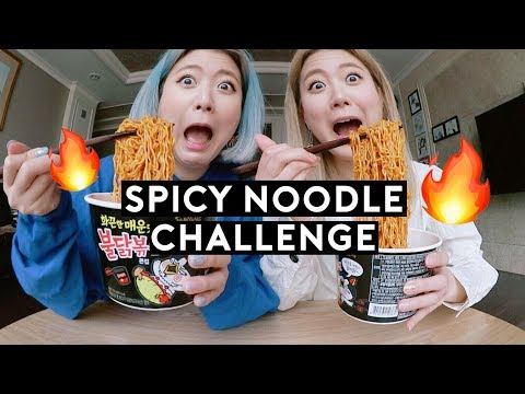 (GIVEAWAY) Spicy Noodle + Thai Chili Challenge, Q&A🔥 | DTV #100