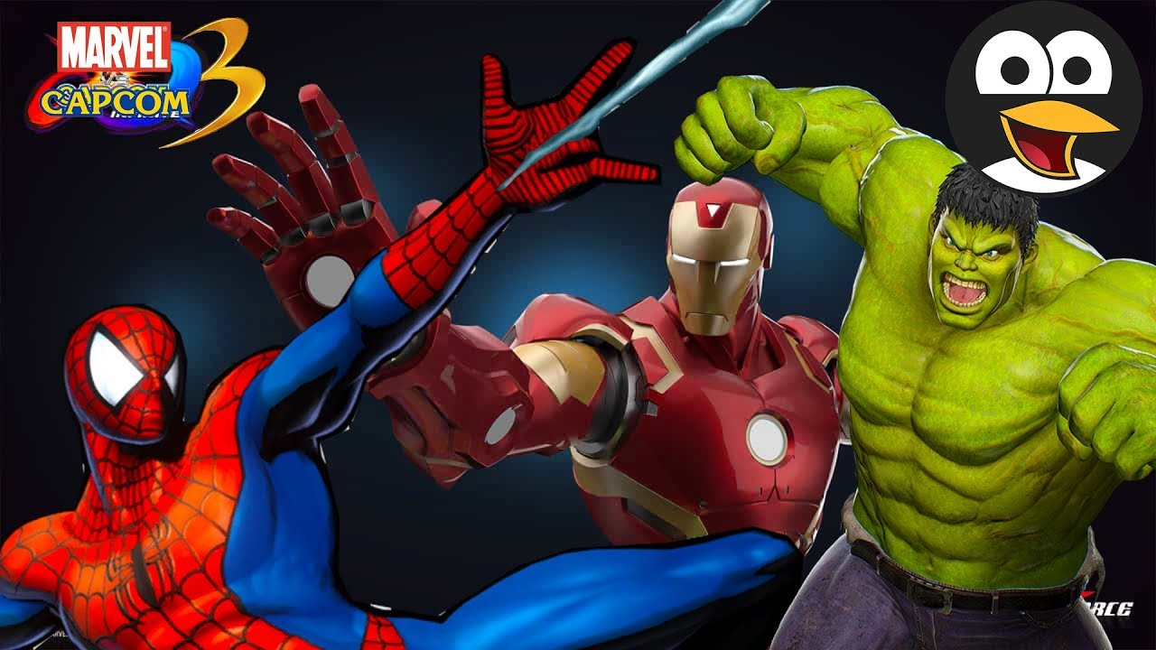 SPIDERMAN Y IRON MAN VS HULK - Vídeos de Juegos de Superhéroes en Español  Marvel vs Capcom - YouTube