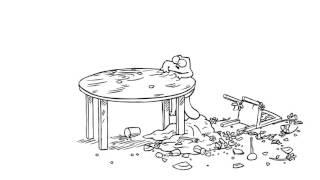 Мультфильм Кот Саймона 10 серия — Перерыв на обед