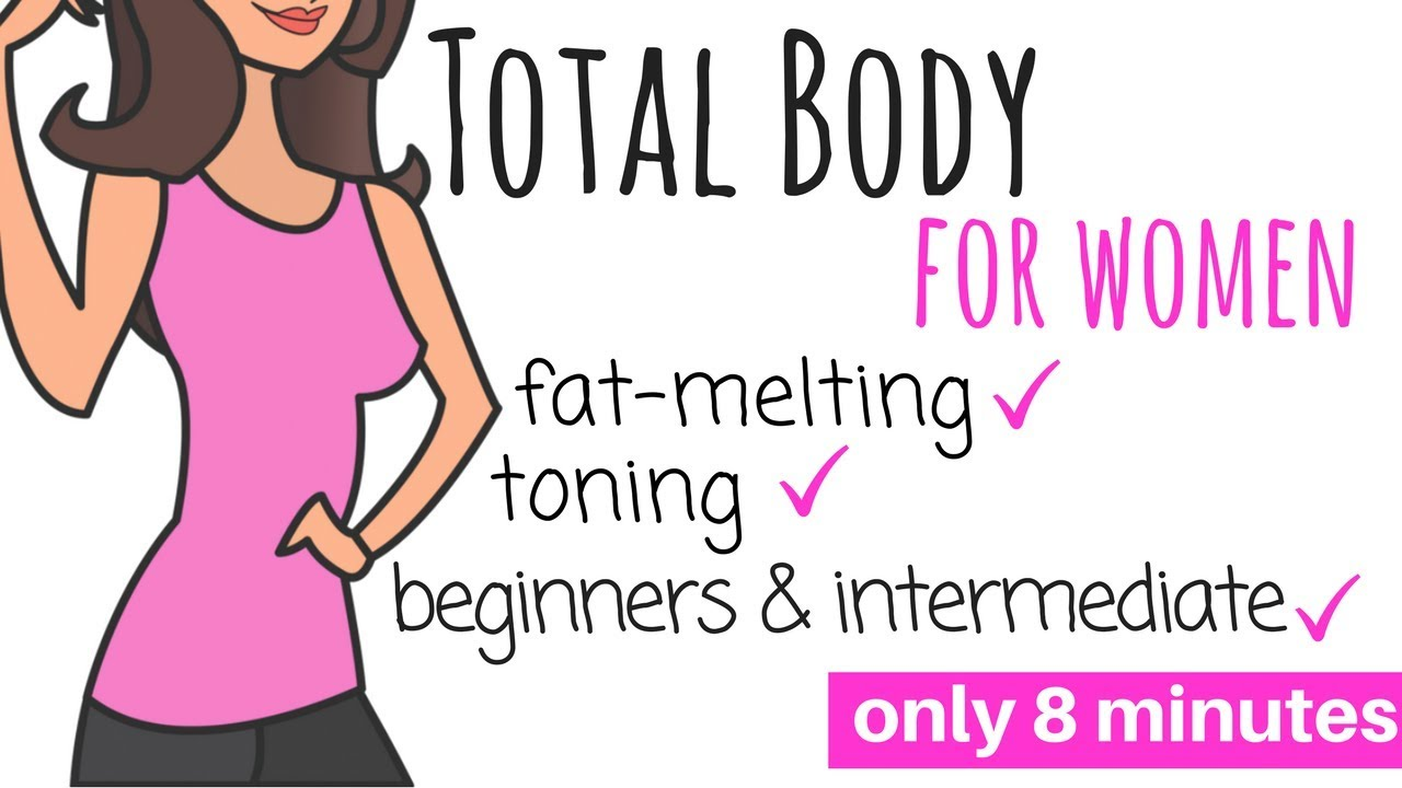 FULL BODY WORKOUT FOR WOMEN AT HOME