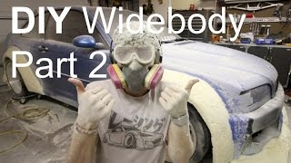 DIY Widebody M3: Part 2 Wheels and Shaping