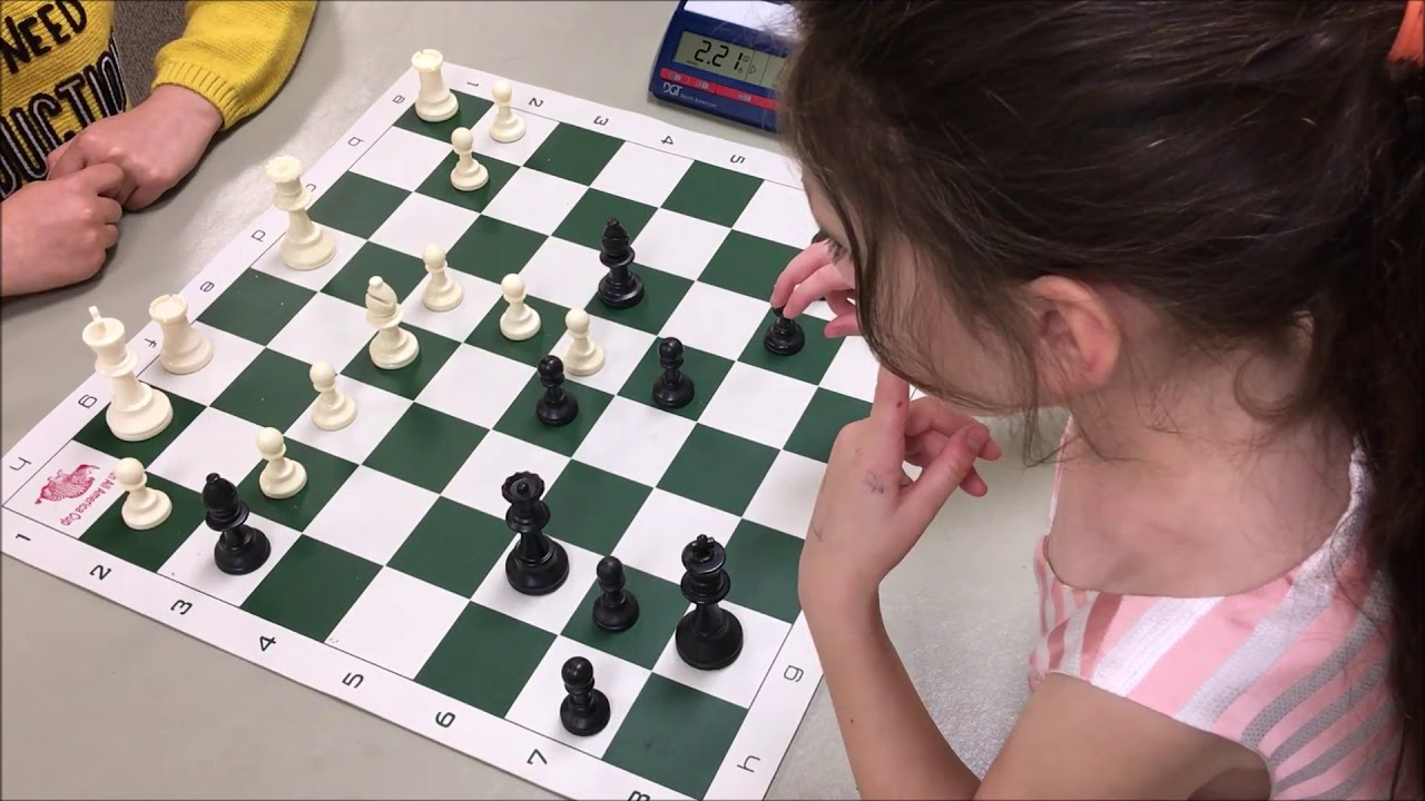 Download You Won't Believe How Calmly This 6 Year Old Plays Chess!