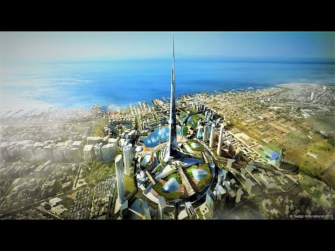 Saudi Arabia $1 Trillion Future MegaProjects 2030 | World's Tallest Building: Jeddah Tower