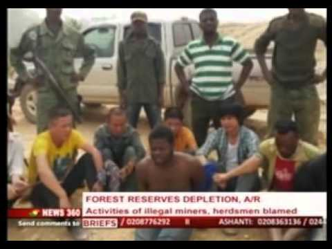 News360 - Forestry commission clamps down activities of miners -  7/2/2016