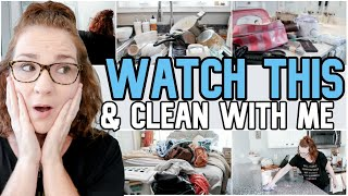 SUPER MOTIVATIONAL All Day Whole House Clean With Me 2019 | SAHM