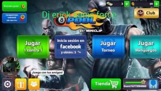 Mod Mini Auto Win 3.7.4 Modelo Mortal Kombat 8 Ball Pool Version 1 Super Mod 2017