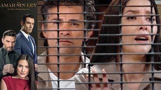 Por Amar Sin Ley 2 - Capítulo 21: Rafael y Mónica son declarados culpables - Televisa