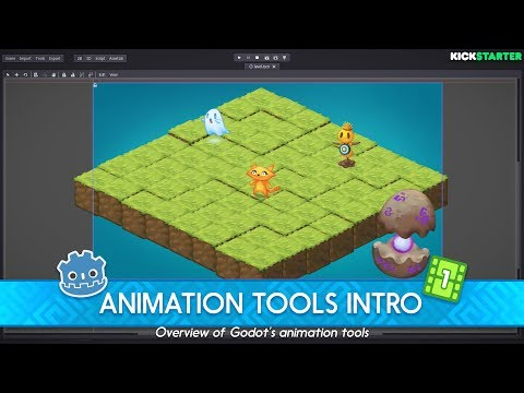 Intro to the Animation Tools in the Godot Game Engine